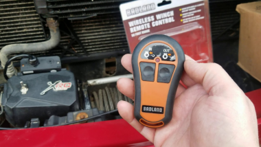 Harbor Freight Badlands Winch Remote Not Working