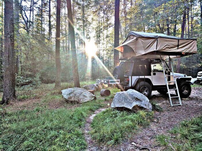 Smittybilt Overlander Roof Top Tent Review